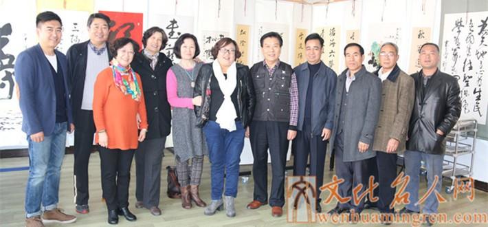 临沂市职工书画家协会创作基地在山东新沂蒙书画院正式挂牌