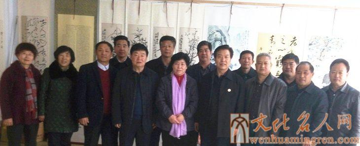 众书画家齐聚山东新沂蒙书画院庆祝建院三周年