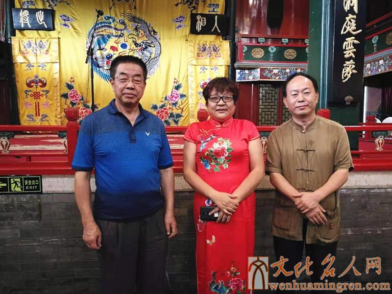 左起:薛启亮、原野、王枫懿