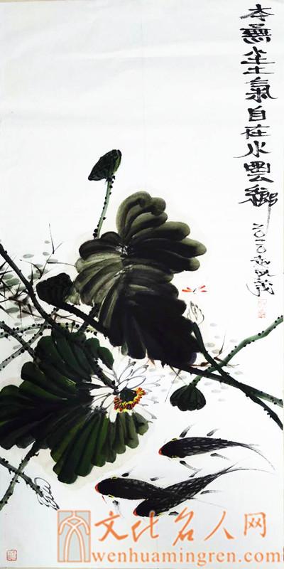 画家赵凤茂国画作品欣赏